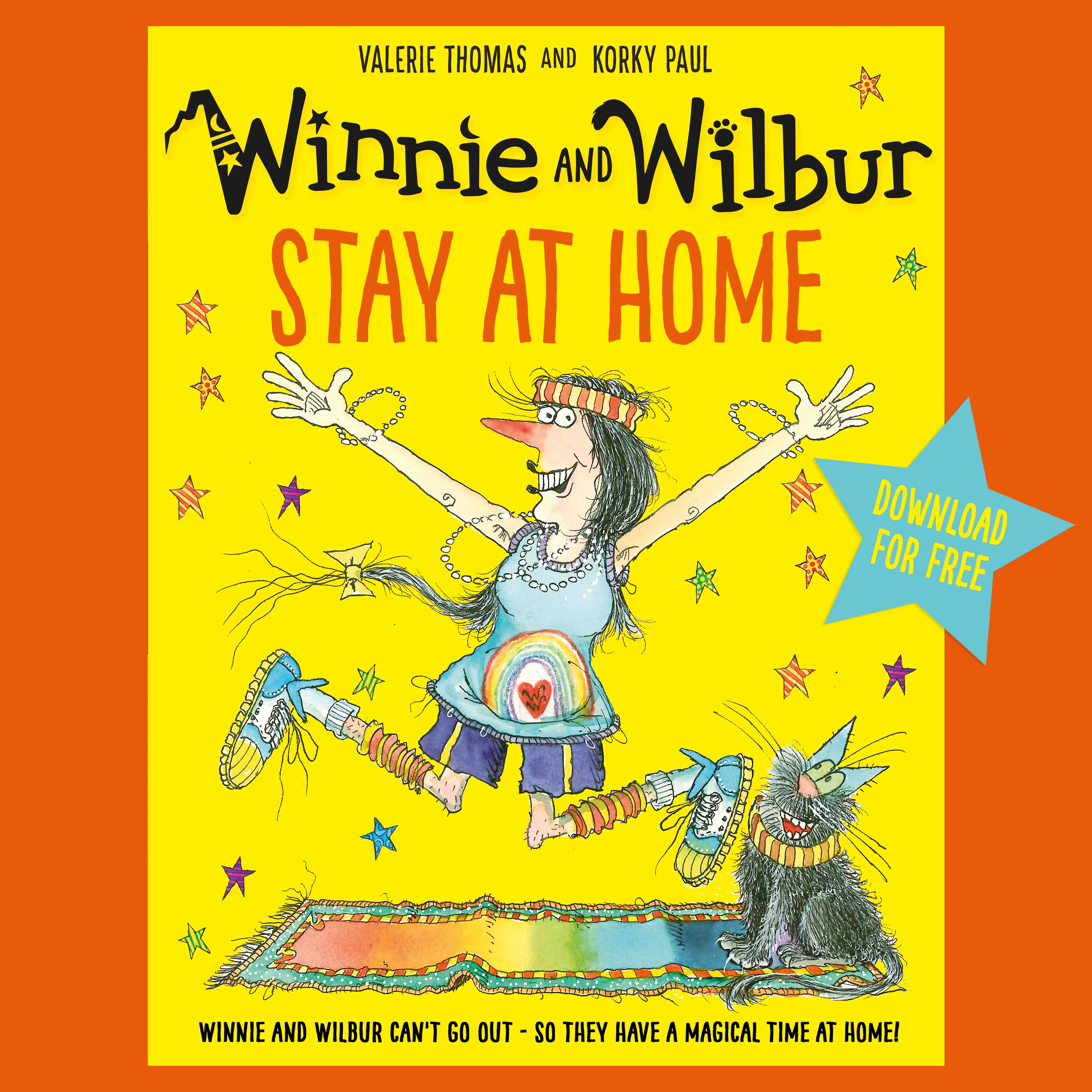 Winnie and Wilbur Stay at Home jacket image